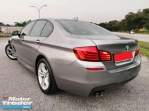 2016 BMW 5 SERIES 520I F10 2.0 (A) M- SPORT LCI FULL SERVICE RECORD UNDER WARRANTY TILL 2021PADDLE SHIFT LEATHER SEAT