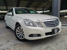 2010 MERCEDES-BENZ E-CLASS E250 CGI AVANTGARDE PUSH START OFFER UNREG