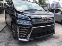 2018 TOYOTA VELLFIRE 2.5ZG DIGITAL MIROR SUNROOF
