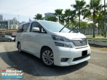 2010 TOYOTA VELLFIRE 2.4 ZP. 1 CAREFUL OWNER. ACCIDENT FREE. JUST BUY N USE. NO REPAIR NEEDED. SEE TO BELIEVE. ALPHARD