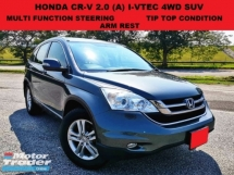 2010 HONDA CR-V 2.0 FACELIFT SUV (A) 4WD 1 CAREFUL OWNER TIP TOP CONDITION