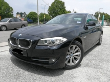 2014 BMW 5 SERIES 520I 8 SPEED LOW MIL FULL SERVICES RECORD FACELIFT