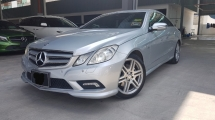 2010 MERCEDES-BENZ E-CLASS 2010 Mercedes E250 AMG Coupe Register 2011 Direct Owner for sale