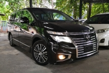 2014 NISSAN ELGRAND 250HIGHWAY STAR BLACK LEATHER EDITION