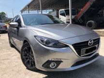 2016 MAZDA 3 2.0 Sedan GLS, Full Spec, Leather Seat, HUD, RVM, 1 Owner, Call Now