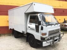 2008 DAIHATSU DELTA V58R 1 Ton LUTON BOX Lorry