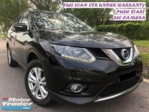2017 NISSAN X-TRAIL 2.0L X-CVT IMPUL ORI WARRANTY PUSH START CAMERA