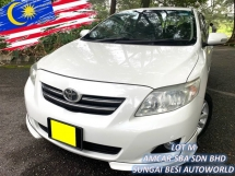 2001 TOYOTA ALTIS 1.8G (A) LEATHER LOW PRICE RAYA SALE