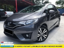 2016 HONDA JAZZ 1.5 V i-VTEC 24K KM MILEAGE ONLY WITH SERVICE RECORD PUSH START NEW FACELIFT HIGH-SPEC F/SERVICE RECORD LOW MILES