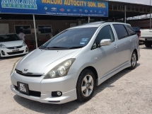2005 TOYOTA WISH 1.8G, SUN ROOF, CBU Import Baru, One Owner, NiceNumberPlateWNC3838