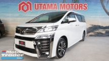 2018 TOYOTA VELLFIRE 3.5 ZG JBL SURROUND CAMERA RAYA PROMOTION