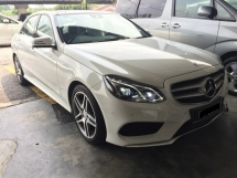 2015 MERCEDES-BENZ E-CLASS E300 32K KM Full Service Under Warranty CKD