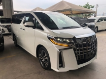 2018 TOYOTA ALPHARD 2.5 SC Edition New Facelift Pre-Collision Radar System Lane Departure Assist Running Intelligent Adaptive Bi-LED Sun Roof Moon Roof Pilot Memory Seat Smart Entry Climate Control 9 Air Bags Unreg