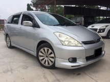 2003 TOYOTA WISH 2006 1.8G TIP TOP CONDITION AUTO