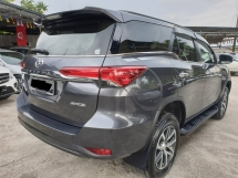 2016 TOYOTA FORTUNER 2.7 SRZ VVTI FULL SERVICE RECORD UMW LOW MILEAGE 2017