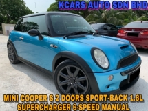 2004 MINI Cooper S 1.6L Supercharge 2 DRS 6-SPEED MANUAL RARE UNIT