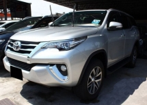2017 TOYOTA FORTUNER 2.7 SRZ 4X4 (A)/ 1 OWNER/ 1XK KM MILEAGE/ F.SERVICE RECORD/ TOYOTA WARTY/ F-LOAN