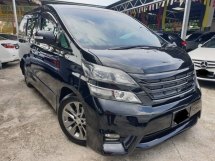 2011 TOYOTA VELLFIRE 2.4Z PLATINUM SELECTION II TYPE GOLD II ELECTRIC SEAT POWER BOOT ALPHARD 2010 2012