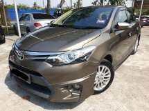2015 TOYOTA VIOS 1.5G (AT) VVTI LEATHER SEAT PUSH START BUTTON REVERSE CAMERA 2016