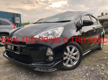 2013 TOYOTA PRIUS C HARGA BINCANG SAMPAI YOU PUAS HATI DAN BELI GUARANTEE GREAT A++ CONDITION