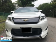 2014 TOYOTA HARRIER 2.0 (A) PREMIUM SPEC -  SUPERB COND LIKE NEW