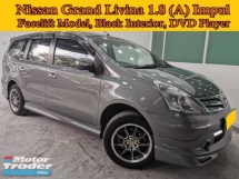 2013 NISSAN GRAND LIVINA 1.8 (A) Impul Facelift Model 7 Seats MPV SONY Dvd Player