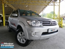 2008 TOYOTA FORTUNER 2.7 (A) VVTI SUV 7 SEATER GOOD CONDITION PROMOTION PRICE.