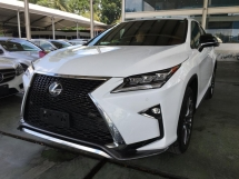 2017 LEXUS RX 200 T F SPORT RED LEATHER SEATS