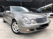 2007 MERCEDES-BENZ E-CLASS E200 K 1.8 ELEGANCE, NEW FACELIFT, LEATHER SEAT, ELECTRIC MEMORY SEAT, LIKE NEW CONDITION, SALE SEMPENA RAYA