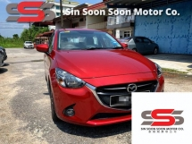 2015 MAZDA 2 1.5 SKYACTIV-G PREMIUM FULL Spec(AUTO)2015 One LADY Owner,47K Mileage,TIPTOP,with MAZDA WARRANTY, DVD,LEATHER,SPORTRIM, PADDLE Shift