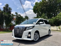 2015 TOYOTA ALPHARD 2.5 SA EDITION UNREGISTERED