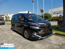 2018 TOYOTA VELLFIRE {{ PROVIDE 3 YEARS WARRANTY }} GENUINE MILEAGE-2018 Toyota Vellfire 3.5 VL FULL SPEC* ALPHARD