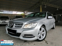2012 MERCEDES-BENZ C-CLASS 1.8 (A) CBU  BLUE EFFICIENCY GOOD CONDITION RAYA PROMOTION PRICE.