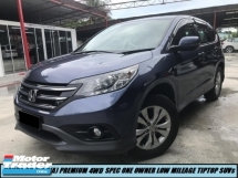2016 HONDA CR-V PREMIUM I VTEC  4WD HIGH SPEC ONE OWNER LOW MILEAGE HIGH QUALITY SUVs SHOWROOM CONDITION LIKE NEW CAR