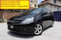 2008 MITSUBISHI GRANDIS 2.4 (A) Mivec New Faclift (Ori Year Make 2008)(1 Owner)(7 Seaters MPV)