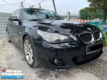 2008 BMW 5 SERIES 525i MSPORT(A)GENUINE FULL SERVICE RECORD