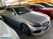 2015 MERCEDES-BENZ C-CLASS C200 AMG sport package airmatic memory seat unregistered