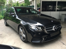 2017 MERCEDES-BENZ E-CLASS  E220 2.0 D AMG SPORT 9G TURBO FACELIFT (RM) 248,000.00