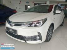 2019 TOYOTA ALTIS 1.8G Full Spec Raya Rebate 4k