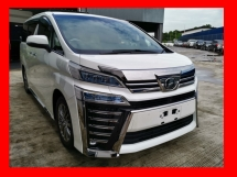 2018 TOYOTA VELLFIRE 3.5 EXECUTIVE LOUNGE FULL SPEC/JAPAN SPEC/NEW MODEL - UNREG