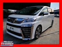 2018 TOYOTA VELLFIRE 2.5ZG FULL SPEC JAPAN UNREGISTERED - 4 CAMERA/SUNROOF/JBL/HOME THEATER