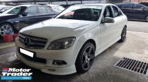 2010 MERCEDES-BENZ C-CLASS C200 CGI BLUE EFFICIENCY (A) REG 2010, CKD MODEL, ONE CAREFUL OWNER, LOW MILEAGE DONE 88K KM, FREE 1 YEAR GMR CAR WARRANTY, 17