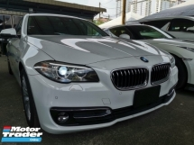 2016 BMW 5 SERIES 2016 BMW 520i 2.0 Sedan Luxury Line FACELIFT UNREG