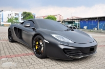 2012 MCLAREN MP4-12C Super Car Full Service Record Mclaren Malaysia
