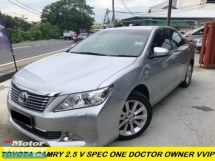 2014 TOYOTA CAMRY 2.5 G SELECTION FACELIFT ONE DOCTOR OWNER 99%LIKE NEW CAR