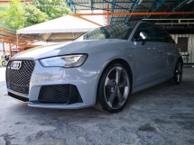 2016 AUDI RS3 2.5 TFSI QUATTRO NARDO GREY MUST CALL