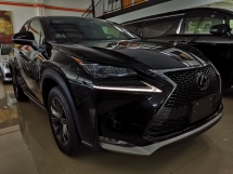 2015 LEXUS NX 200T F Sport Radar Unreg Sale Offer