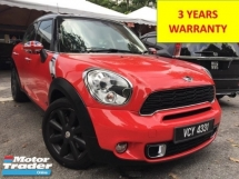 2012 MINI Countryman 2012 MINI COOPER S COUNTRYMAN 1.6 TURBO (A) ALL 4 SPEC 1 OWNER CEO