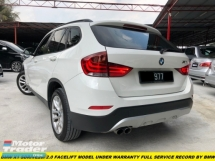 2015 BMW X1 SDRIVE20i FACELIFT WITH IDRIVE NAVIGATION UNDER WARRANTY BY BMW FREE BRAKE PADS BY BMW