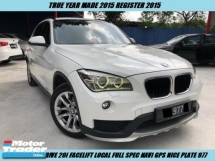 2016 BMW X1 S DRIVE 20i Facelift Local Full Spec Under Warranty Nice Plate 977